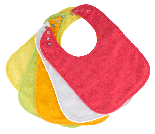 waterproof baby bibs, hypoallergenic, BPA free, organic products, premium quality,super soft, baby bib with 3 snaps, generous size bibs